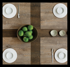 utilizing woven vinyl designer sandy chilewich created an innovative concept in placemats and table runners chilewich products are durable