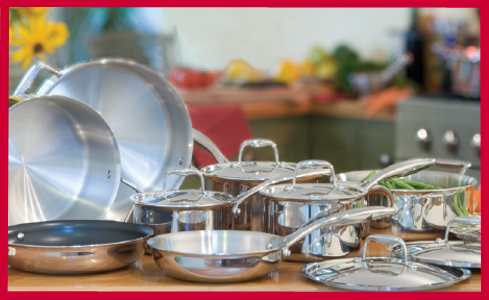 Paderno Manufactures Cookware And Kitchenware Grant