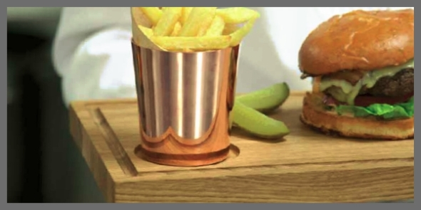Copper Chip Pots